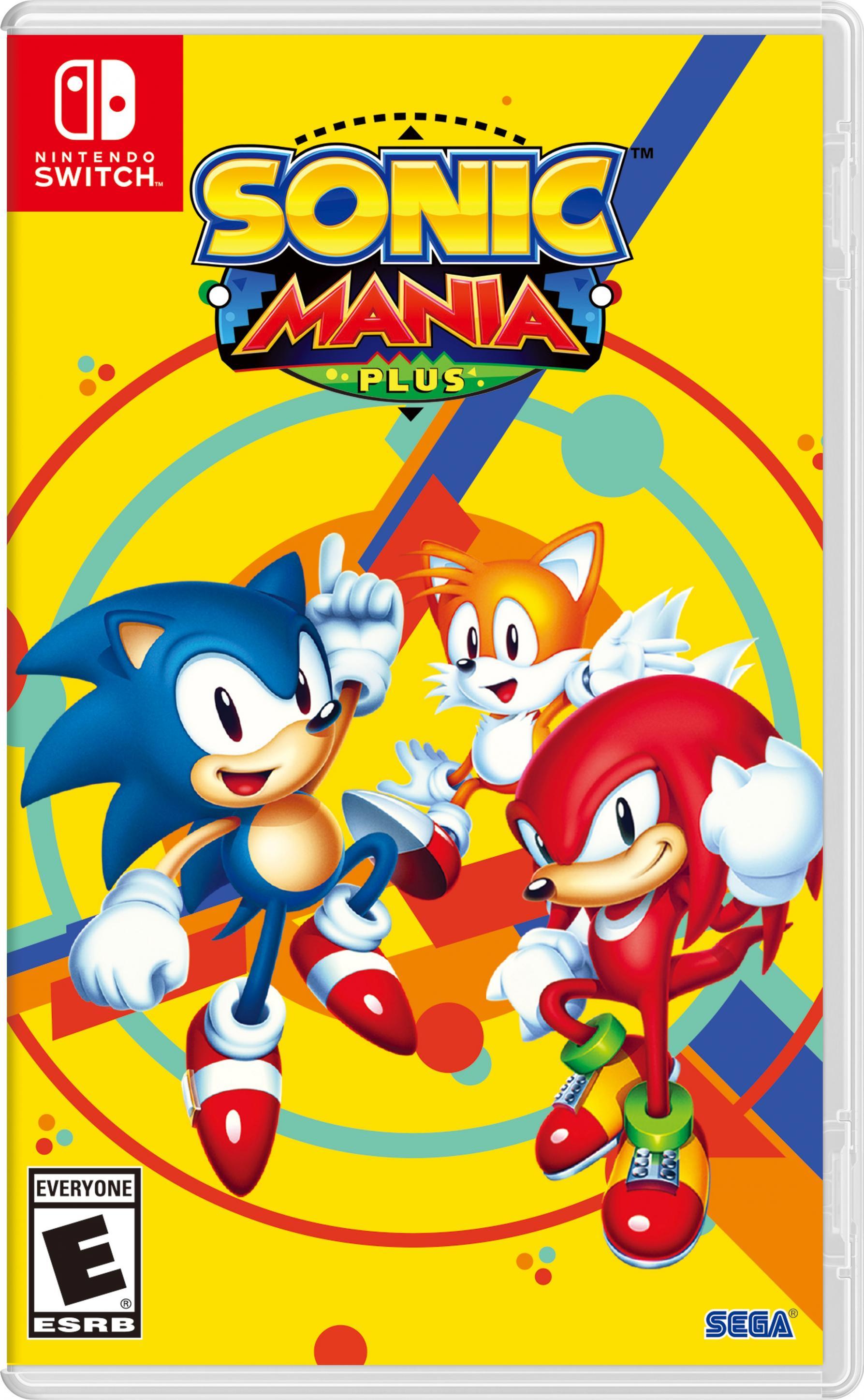 Sonic mania plus.