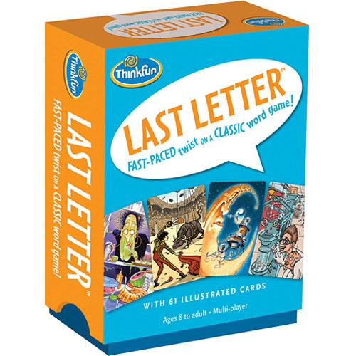 Last letter : fast-paced twist on a classic word game.