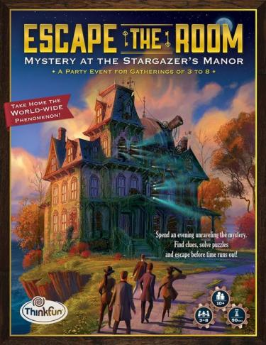 Escape the room. Mystery at the Stargazer's Manor.