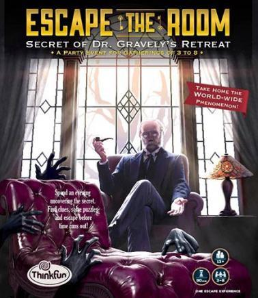 Escape the room : secret of Dr. Gravely's retreat.