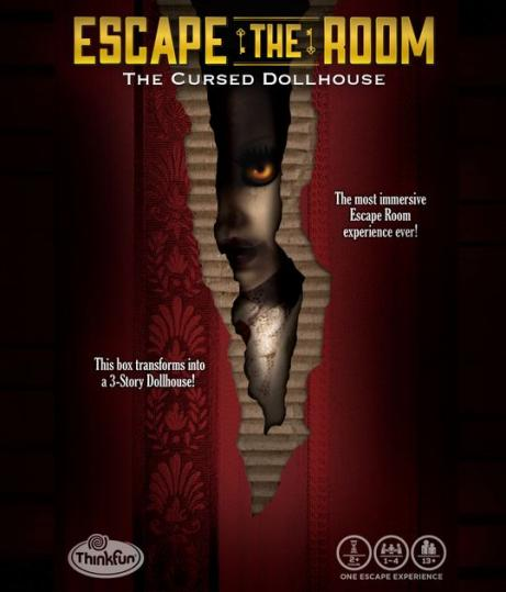 Escape the room. Cursed Dollhouse