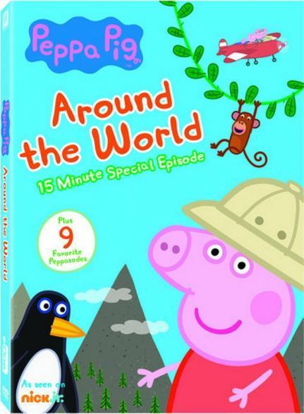 Peppa Pig. Around the world.