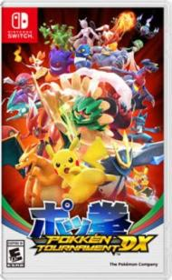 Pokkén tournament DX.
