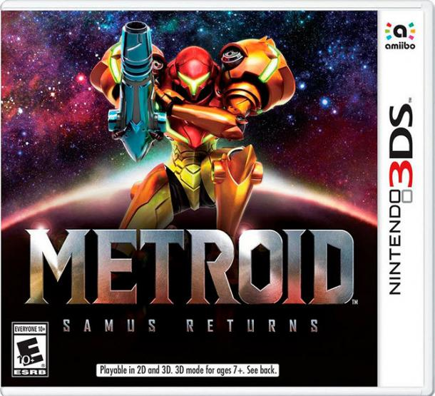 Metroid. Samus returns.
