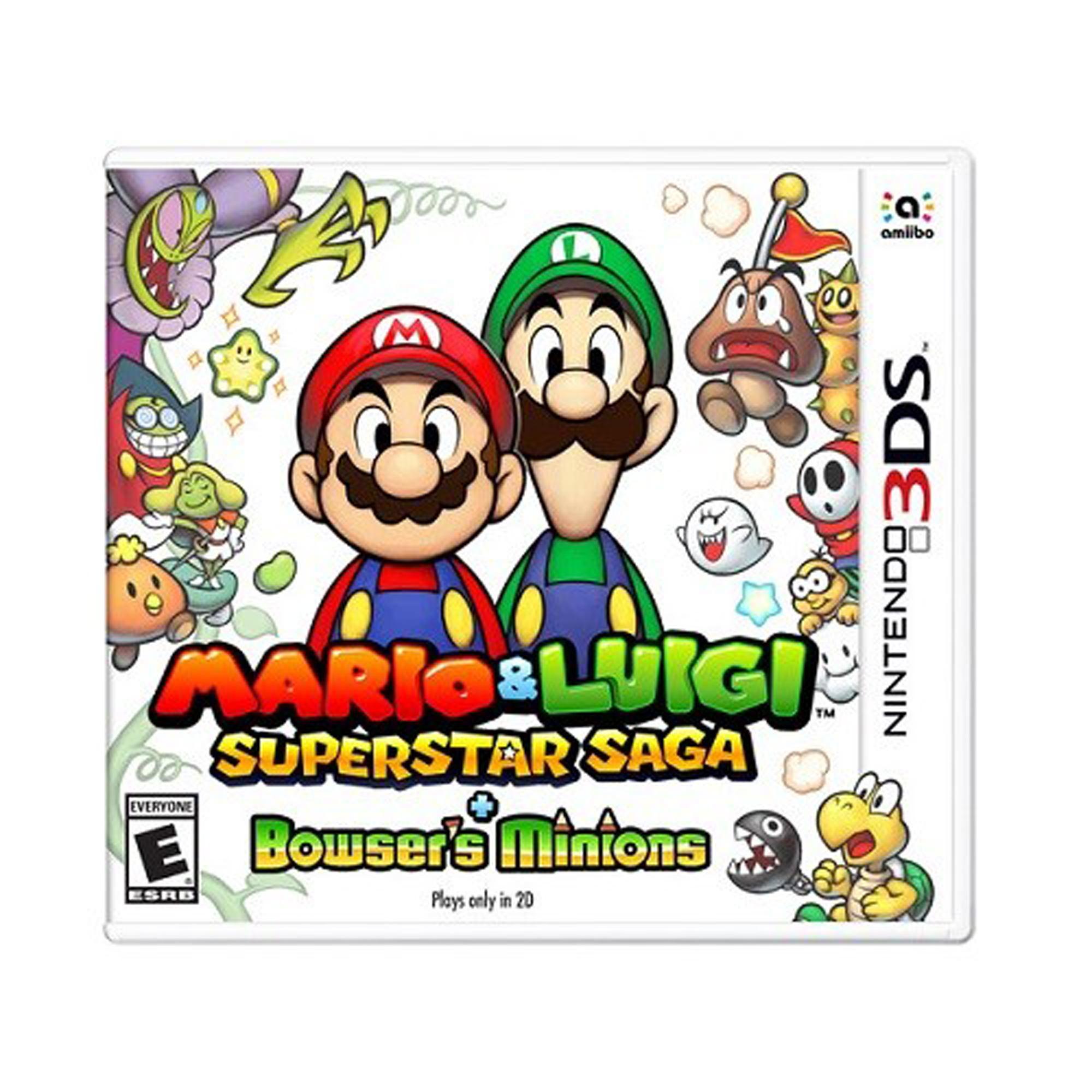 Mario & Luigi: superstar saga + Bowser's minions.