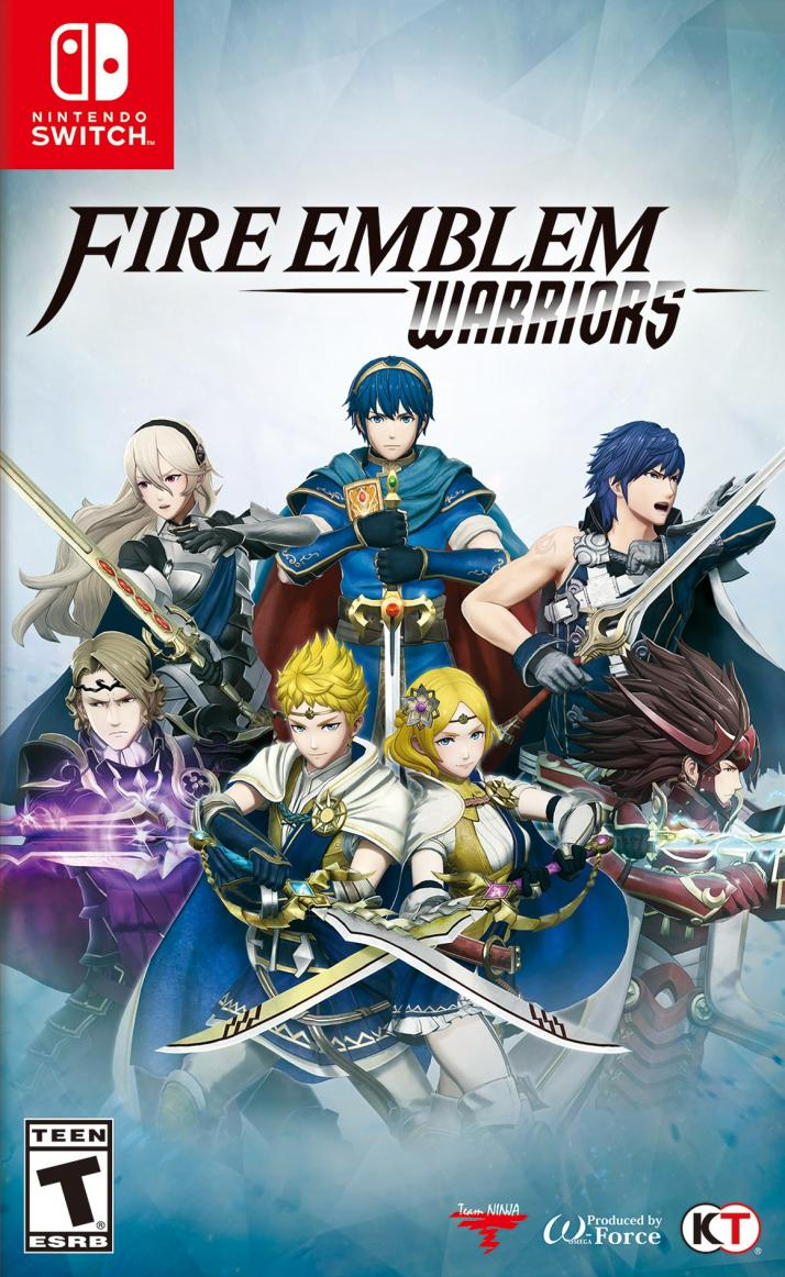 Fire emblem warriors.