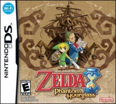 The legend of Zelda : phantom hourglass.