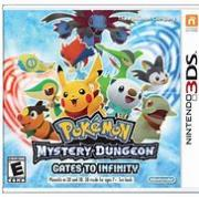 Pokémon mystery dungeon. Gates to infinity