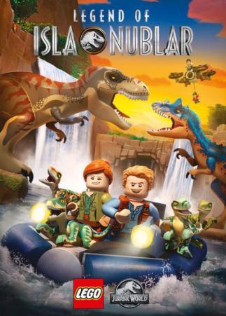 LEGO Jurassic world. Legend of Isla Nublar