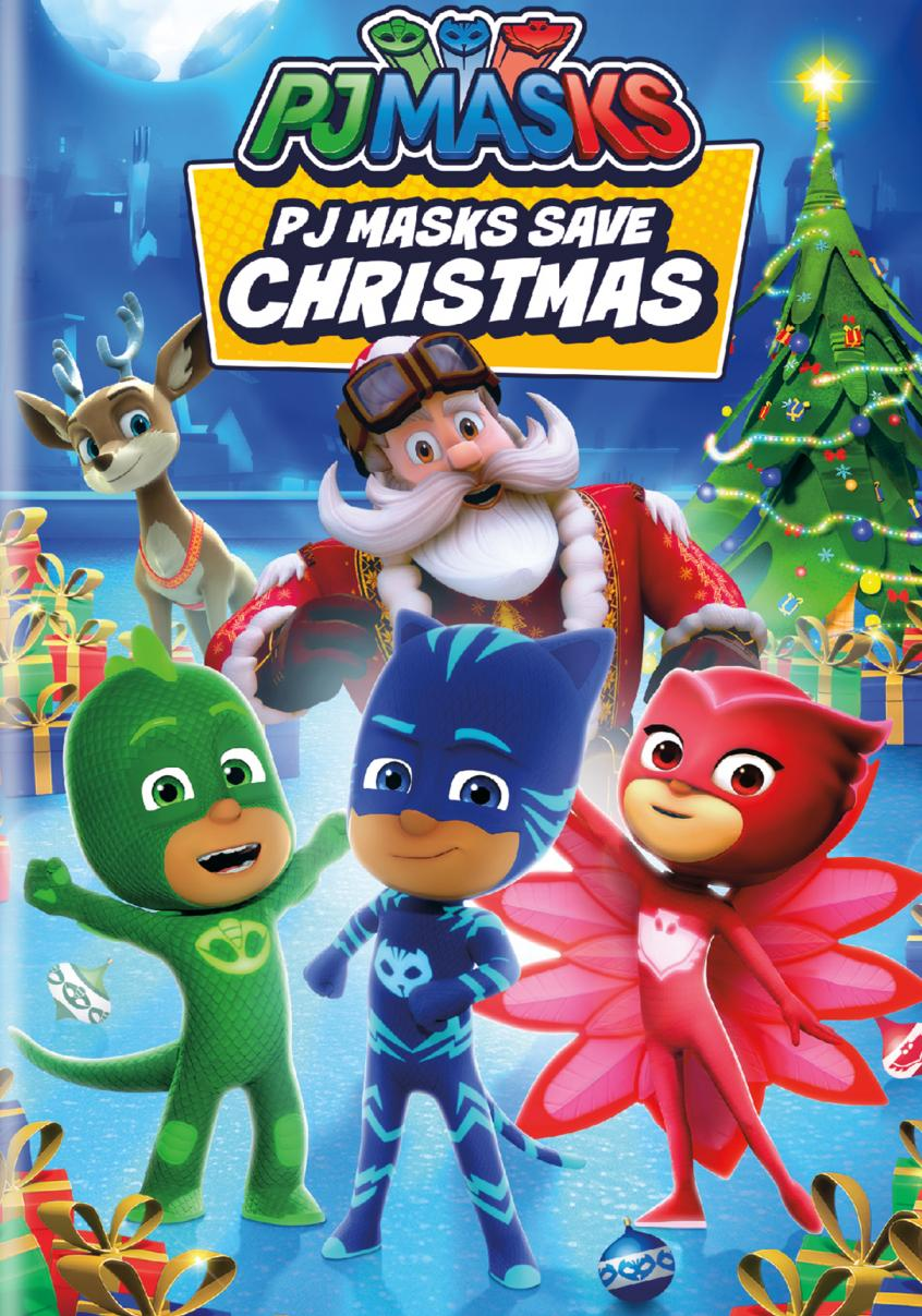 PJ Masks. PJ Masks save Christmas.