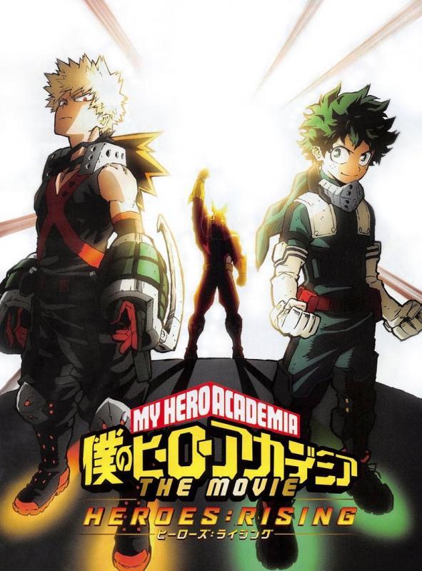 My hero Academia. Heroes rising