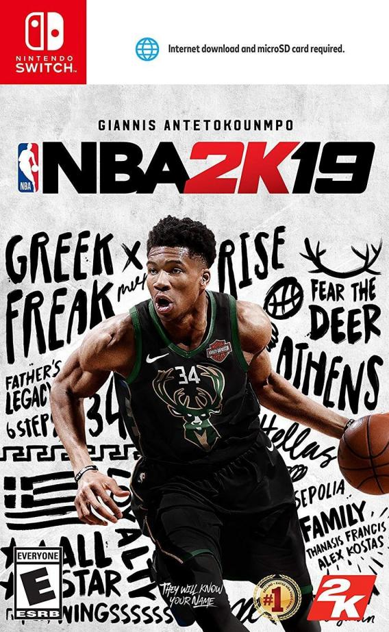 NBA 2K19.