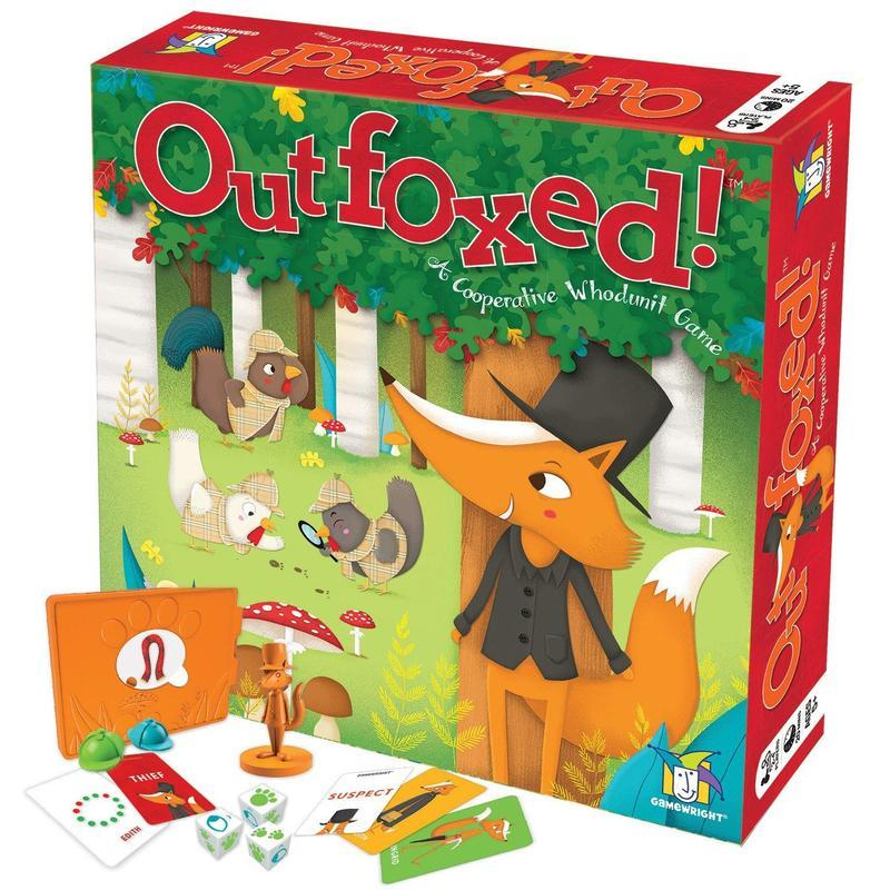 Outfoxed : a cooperative whodunit game.