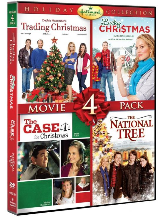 Hallmark Channel holiday collection movie 4 pack : a very merry mix-up ; The Christmas ornament ; Hitched for the holidays ; Come dance with me
