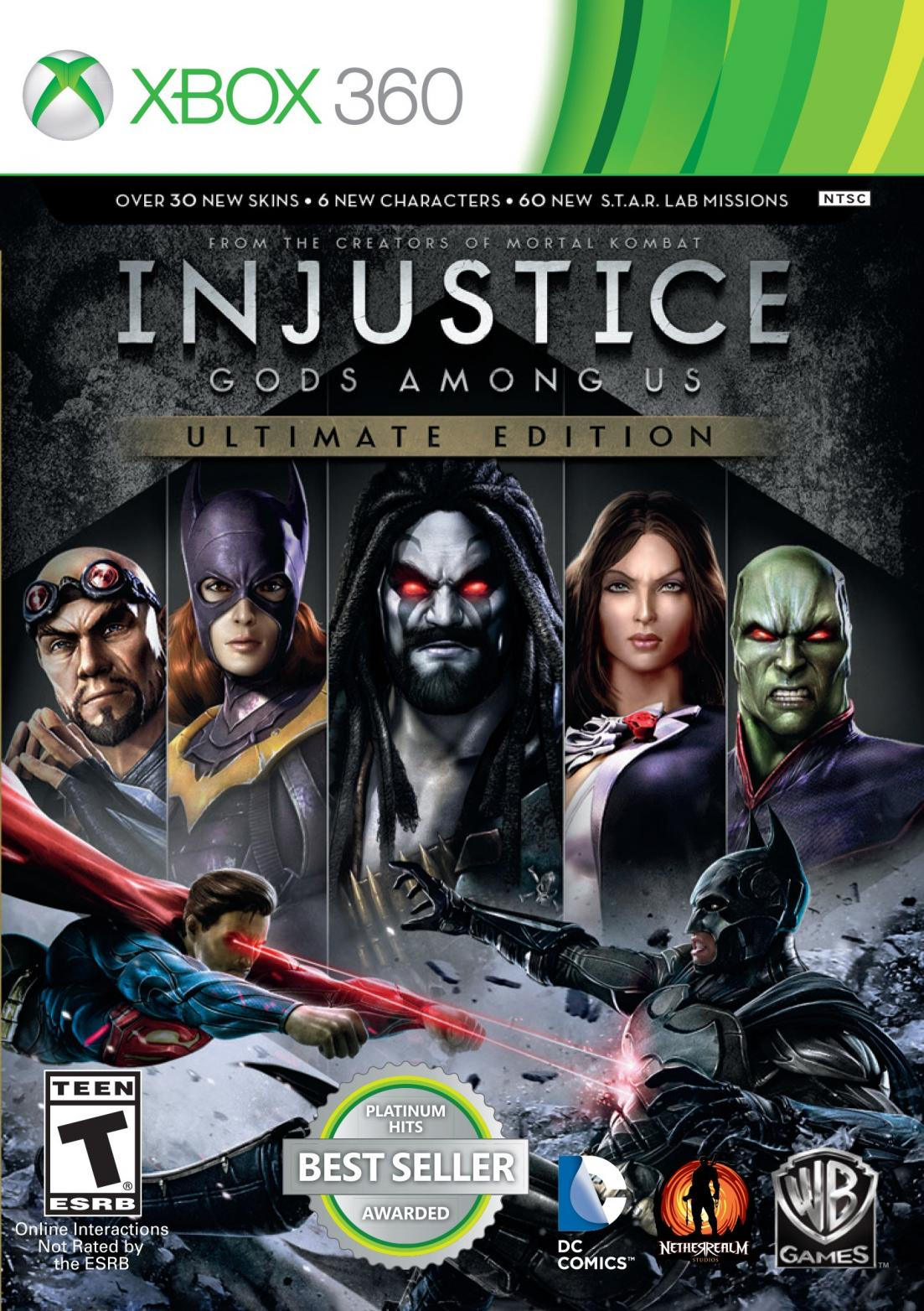 Injustice: gods among us.
