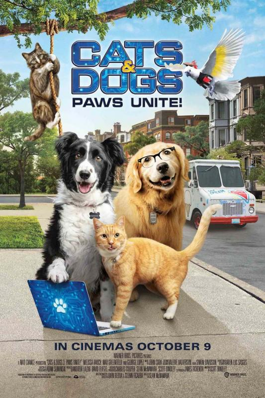 Cats & dogs 3. Paws unite!