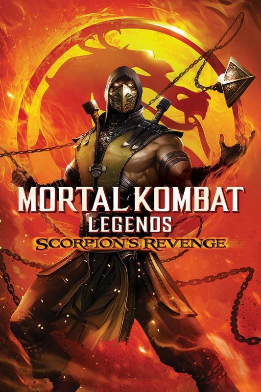 Mortal kombat legends. Scorpion