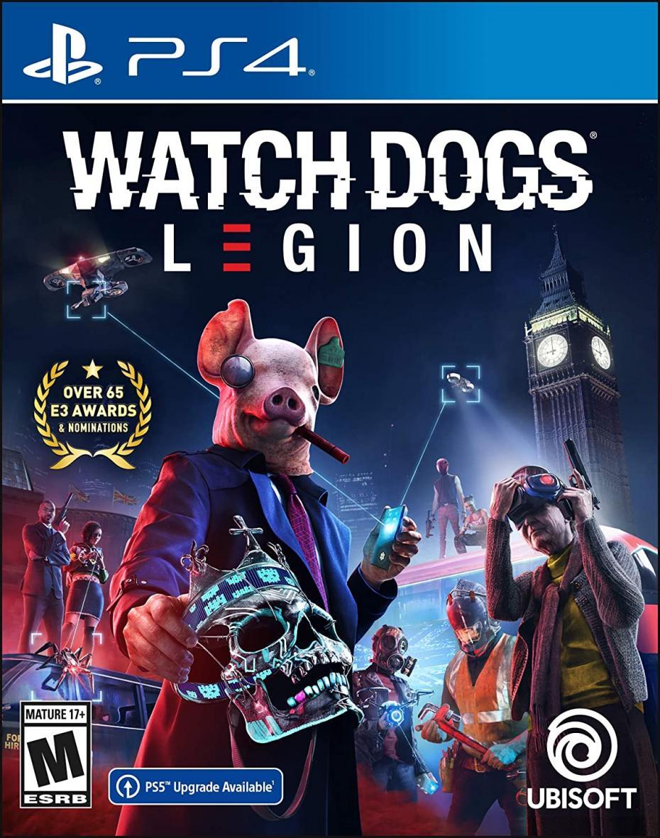 Watch dogs : legion.