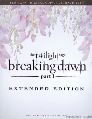 Twilight saga. Breaking dawn pt. 1