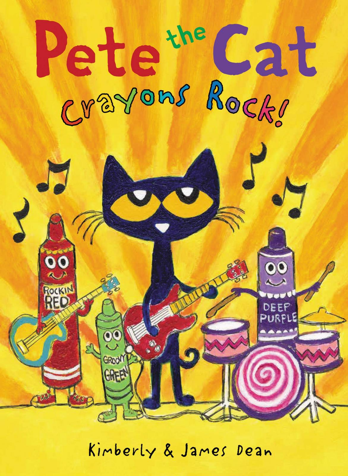Pete the cat : crayons rock!