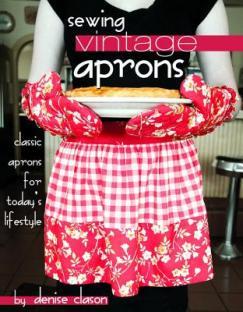 Sewing vintage aprons
