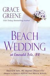 Beach wedding at Emerald Isle, NC