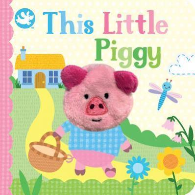 This Little Piggy finger puppet book.