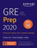 GRE prep 2020.