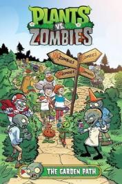 Plants vs. zombies. The garden path