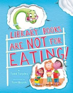 Library Books Are Not for Eating!