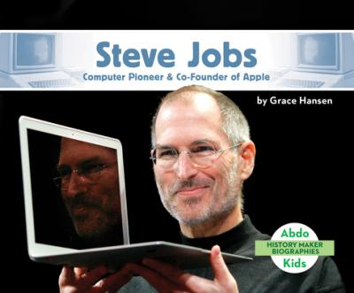 Steve Jobs : computer pioneer & co-founder of Apple