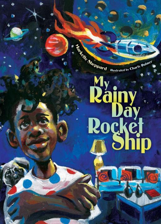 My rainy day rocket ship
