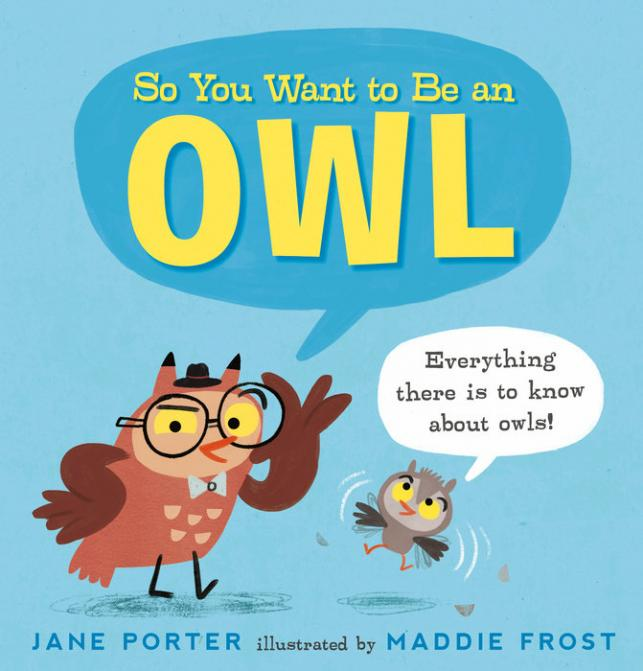 So you want to be an owl