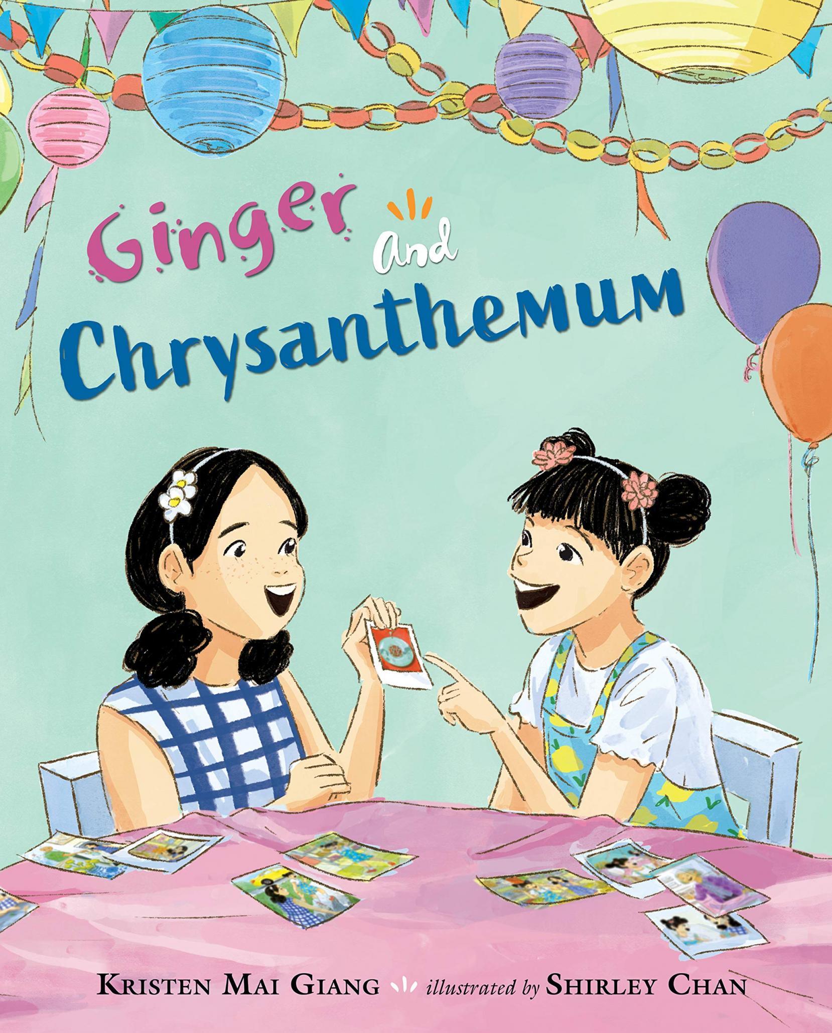 Ginger and Chrysanthemum