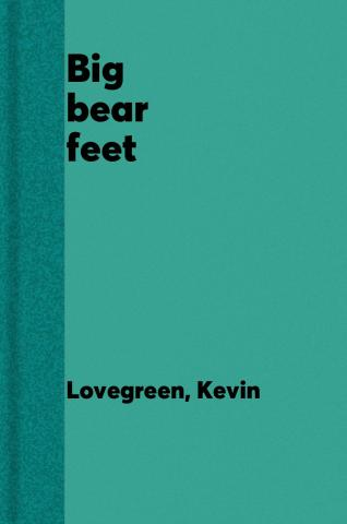 Big bear feet