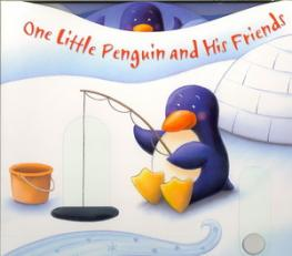 One little penguin and his friends : a pushing, turning, counting book