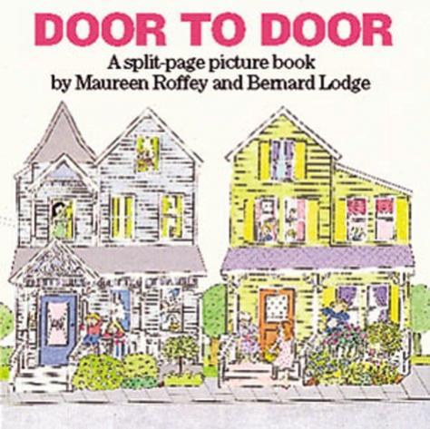Door to door : a split-page picture book