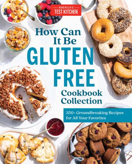 How can it be gluten free cookbook collection : 350+ groundbreaking recipes for all your favorite foods.