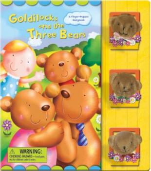 Goldilocks and the three bears : a finger-puppet storybook